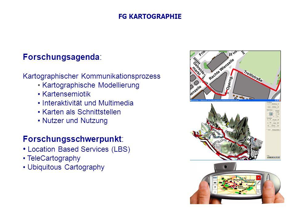 Forschungsschwerpunkt: Location Based Services (LBS)