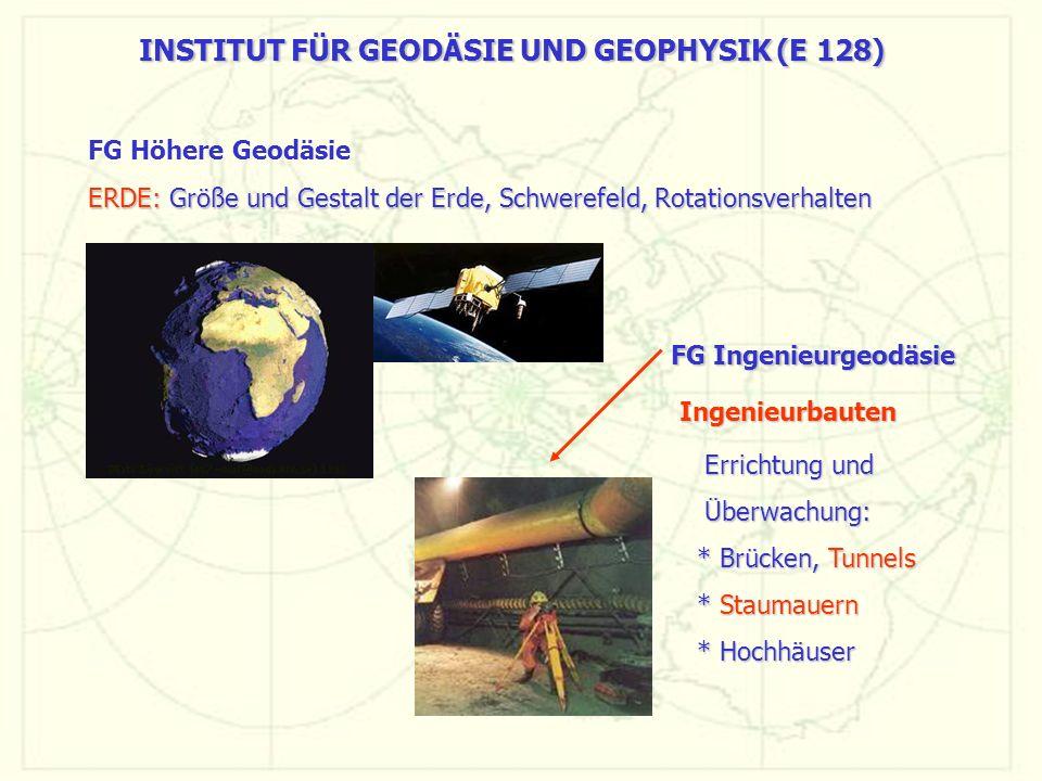 INSTITUT FÜR GEODÄSIE UND GEOPHYSIK (E 128)