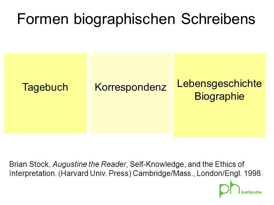 LebensgeschichteBiographie