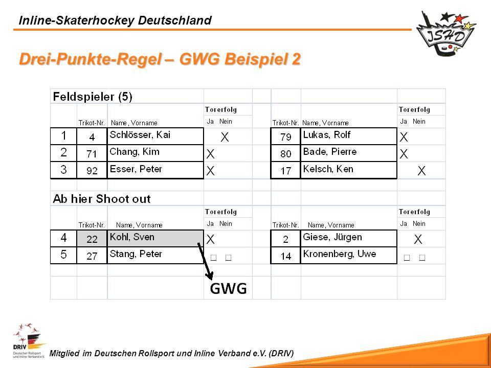 Drei-Punkte-Regel – GWG Beispiel 2