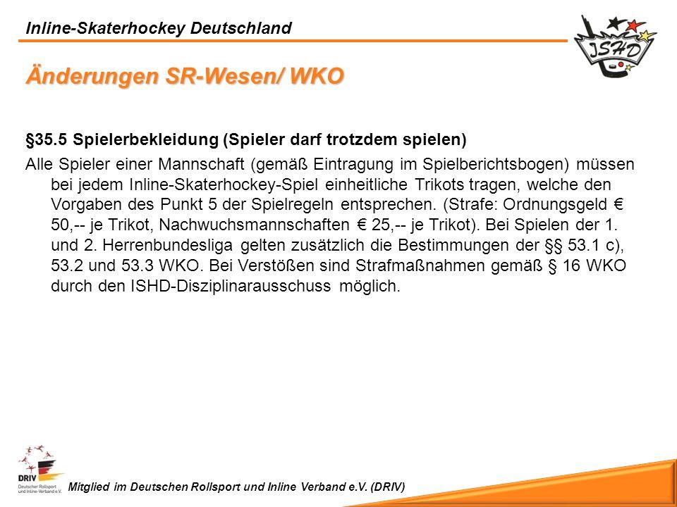 Änderungen SR-Wesen/ WKO