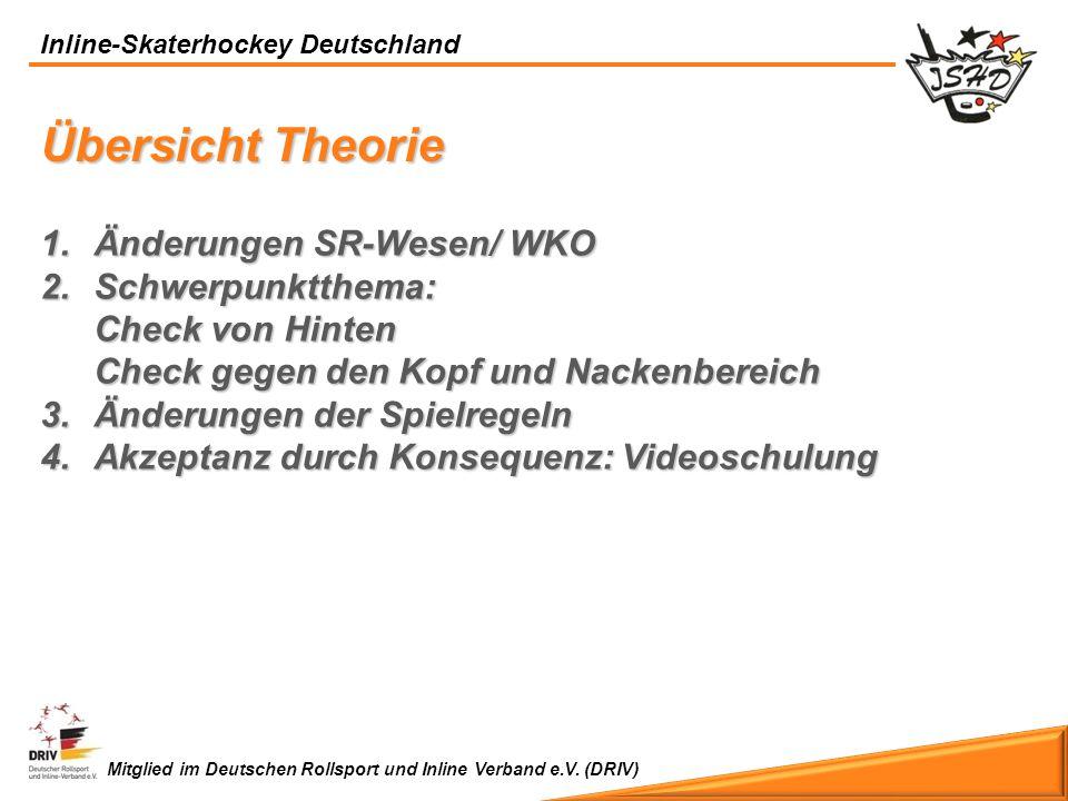 Übersicht Theorie Änderungen SR-Wesen/ WKO Schwerpunktthema: