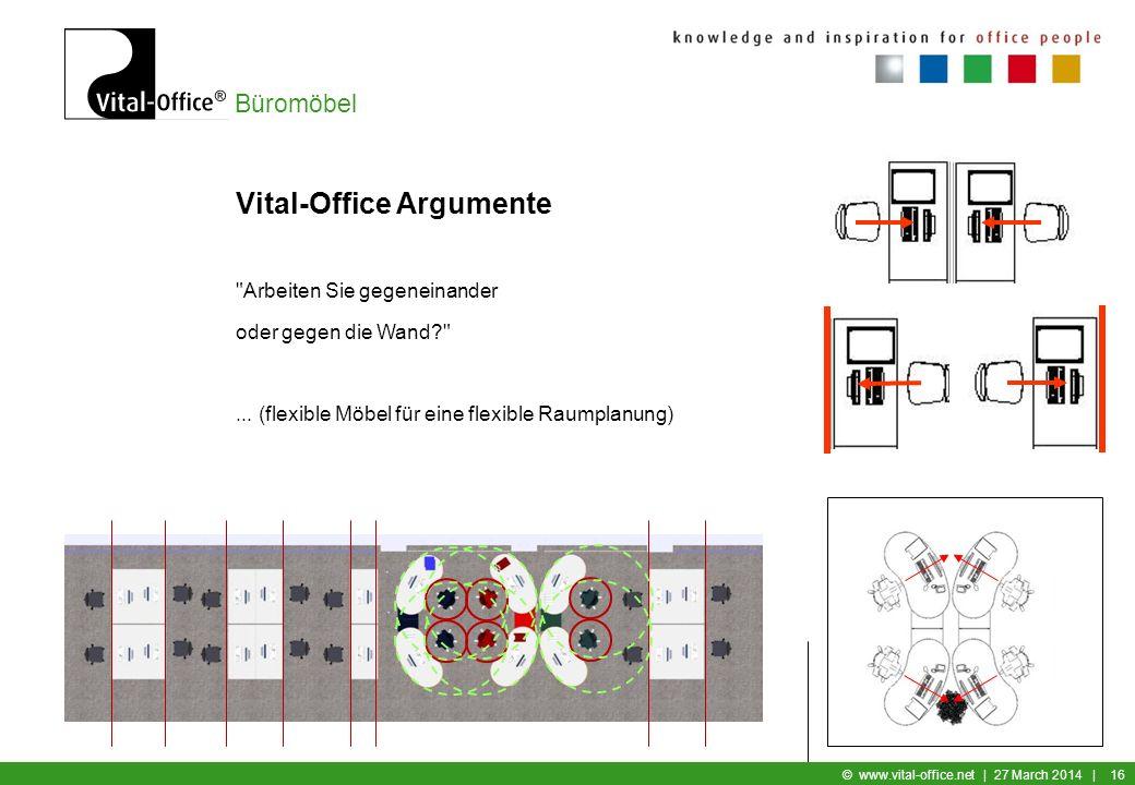 Vital-Office Argumente