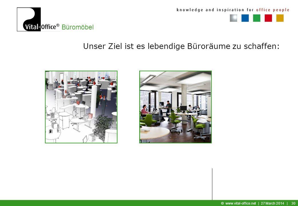 Unser Ziel ist es lebendige Büroräume zu schaffen: