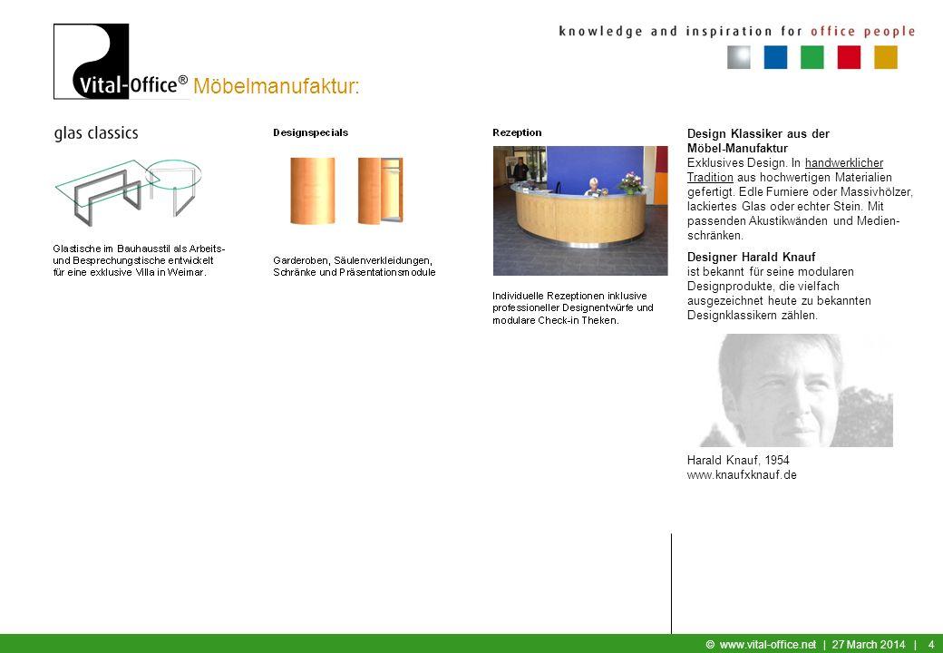 Möbelmanufaktur: Design Klassiker aus der Möbel-Manufaktur