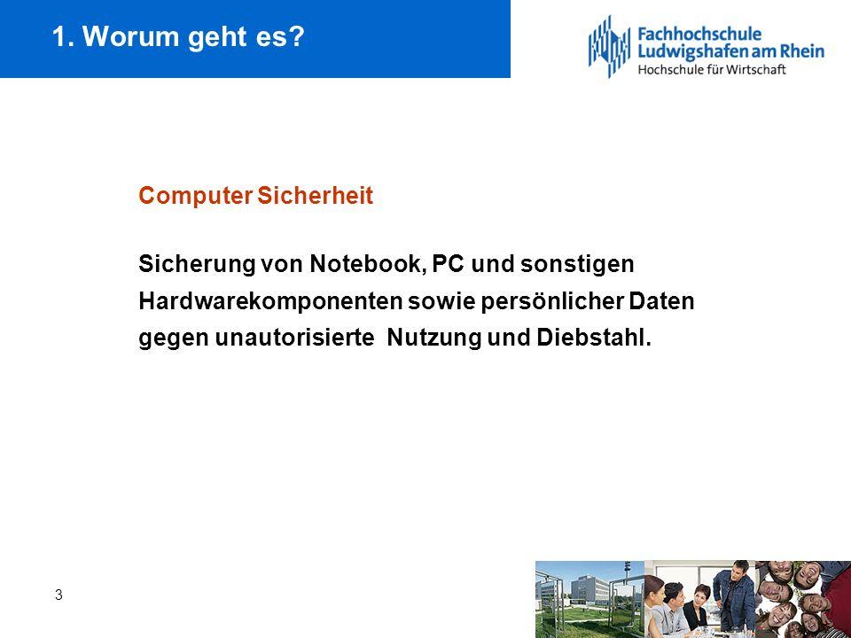 1. Worum geht es Computer Sicherheit
