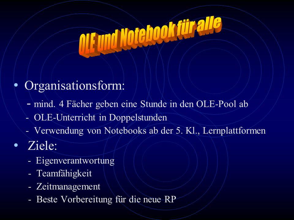OLE und Notebook für alle