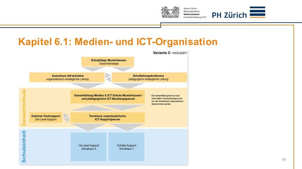 Kapitel 6.1: Medien- und ICT-Organisation