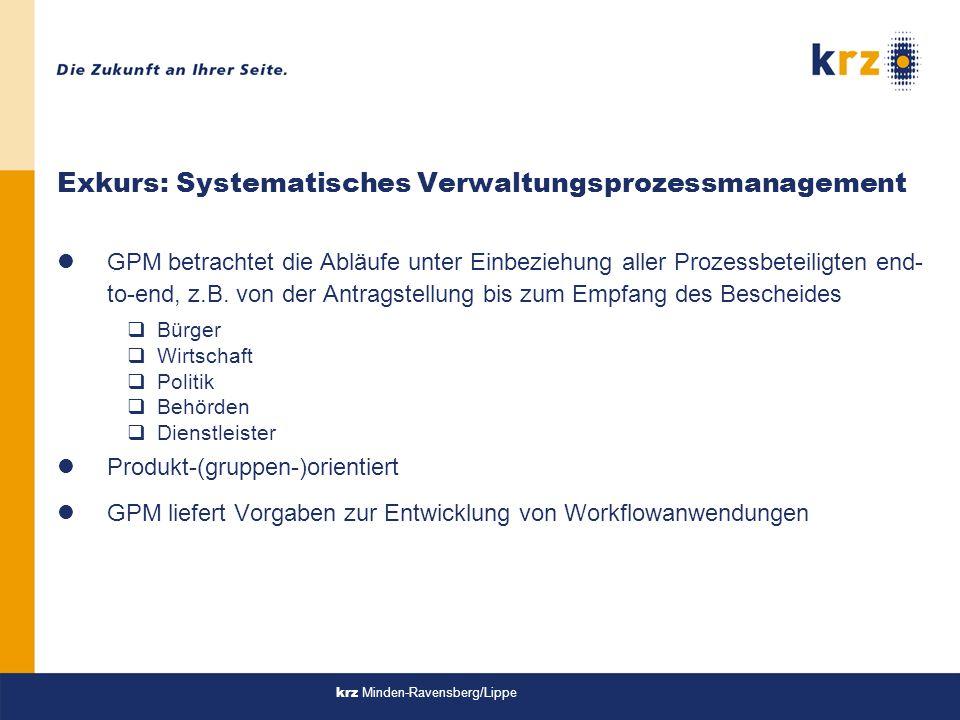Exkurs: Systematisches Verwaltungsprozessmanagement