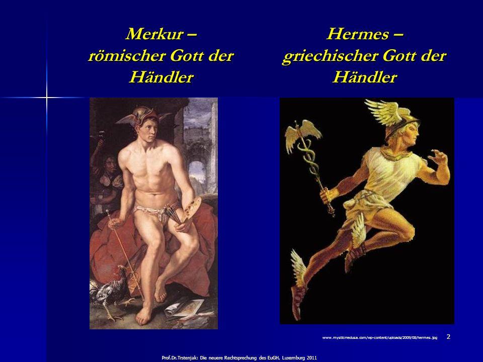 Merkur – römischer Gott der Händler