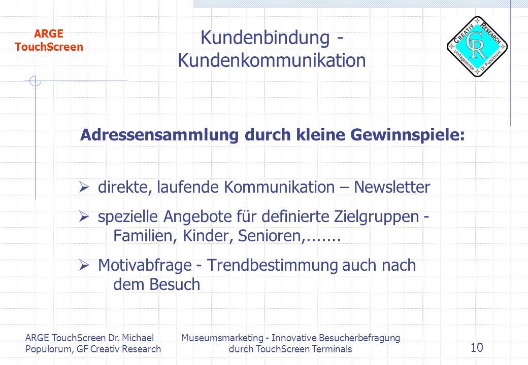 Kundenbindung - Kundenkommunikation