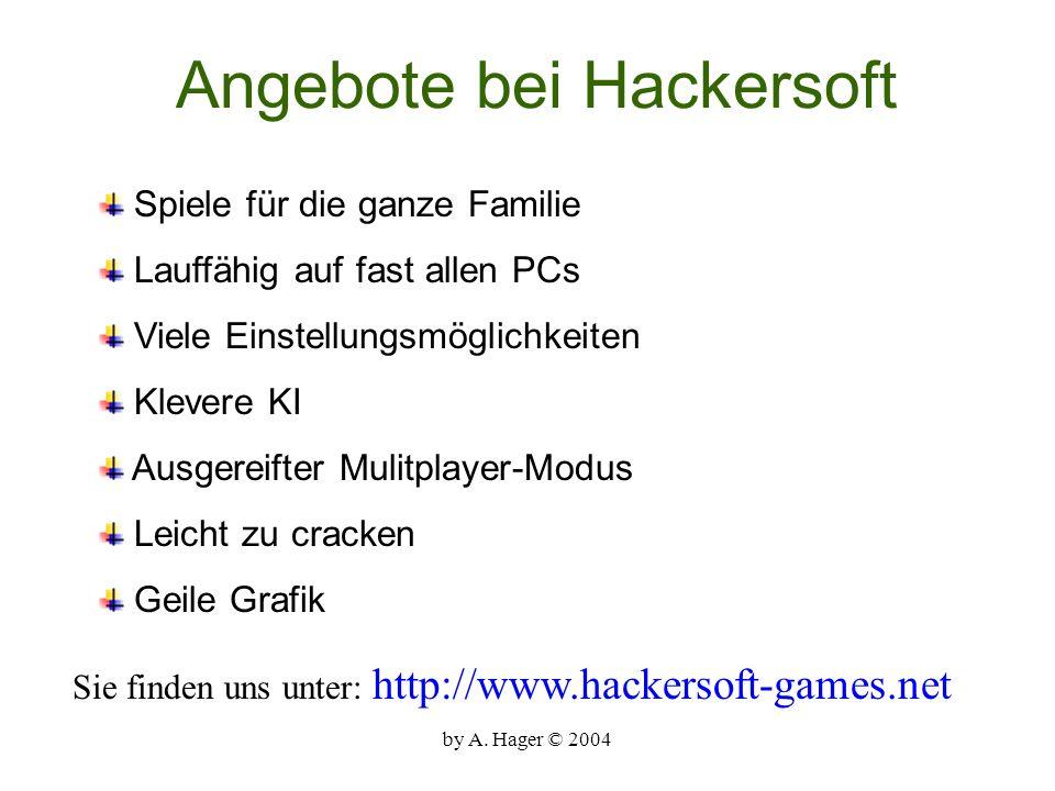 Angebote bei Hackersoft