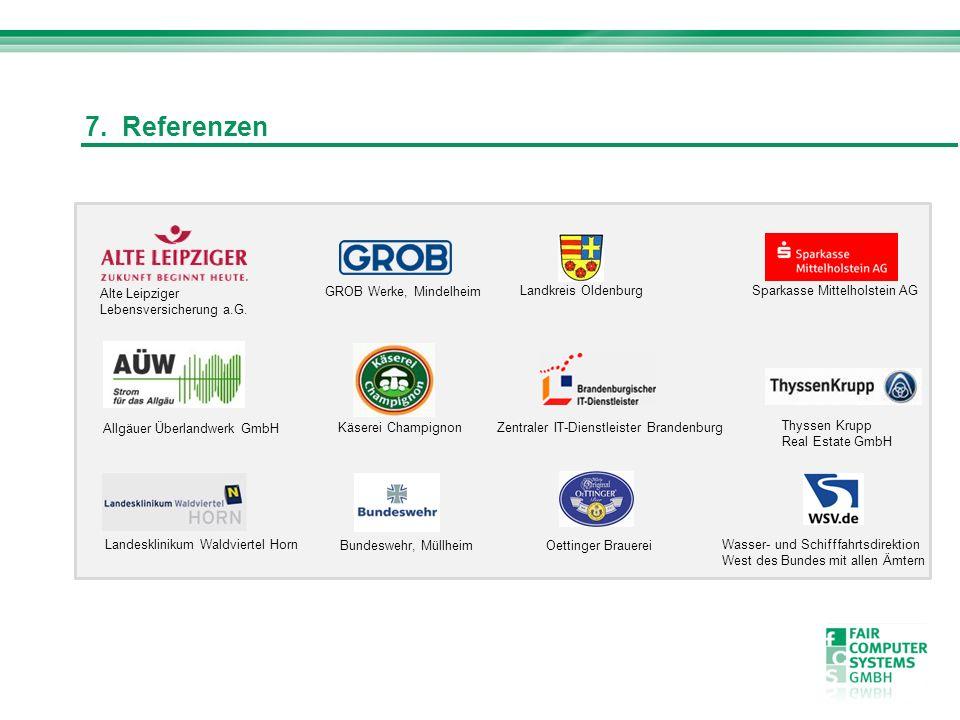 7. Referenzen Alte Leipziger Lebensversicherung a.G.