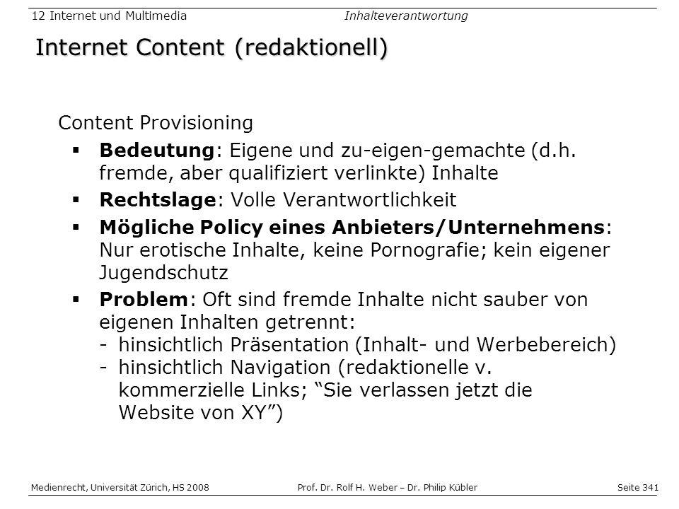 Internet Content (redaktionell)
