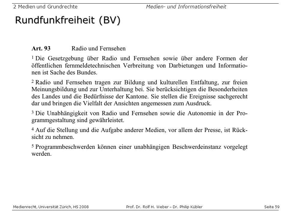 Rundfunkfreiheit (BV)