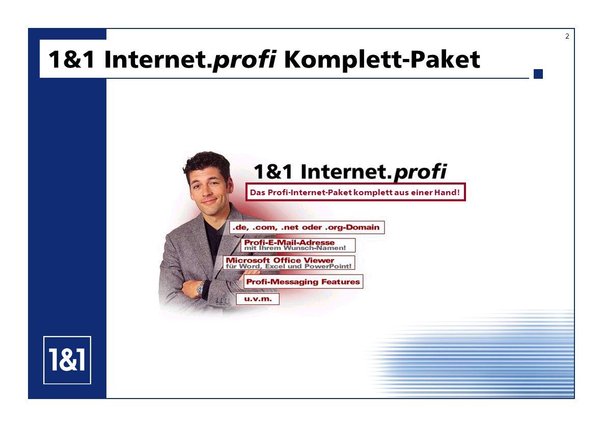 1&1 Internet.profi Komplett-Paket