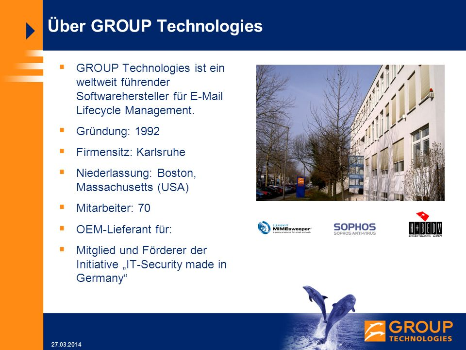 Über GROUP Technologies