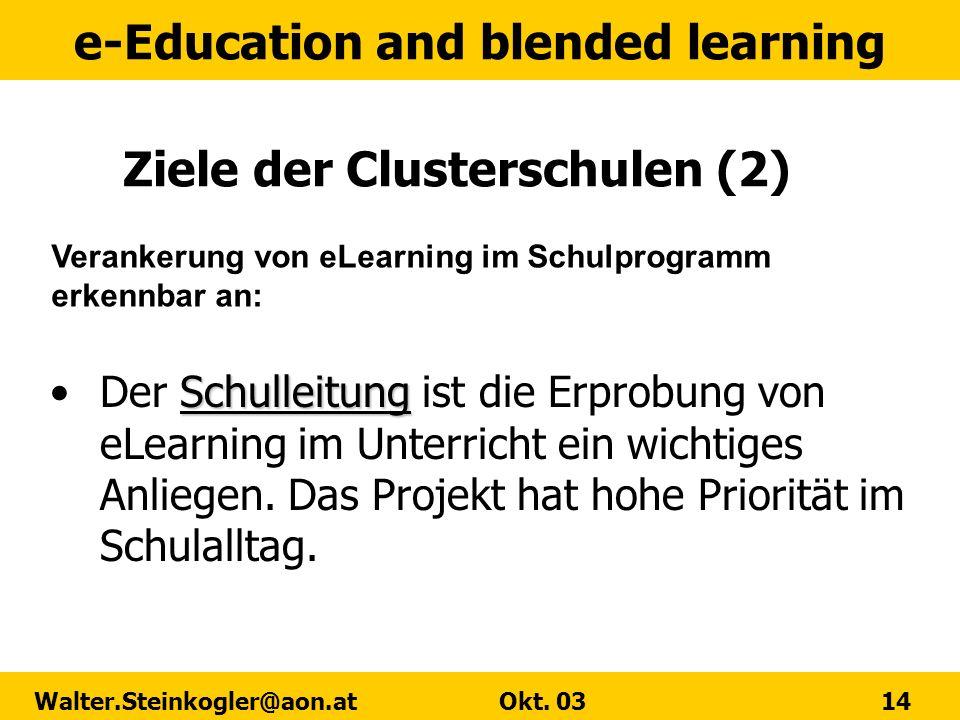 Ziele der Clusterschulen (2)