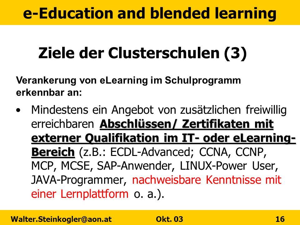 Ziele der Clusterschulen (3)