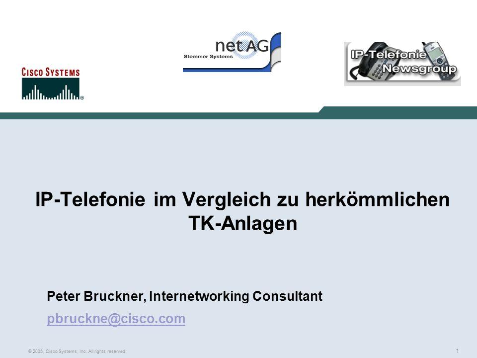 IP-Telefonie im Vergleich zu herkömmlichen TK-Anlagen