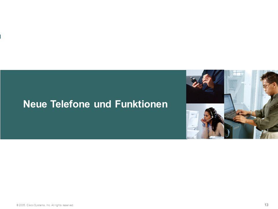 Neue Telefone und Funktionen