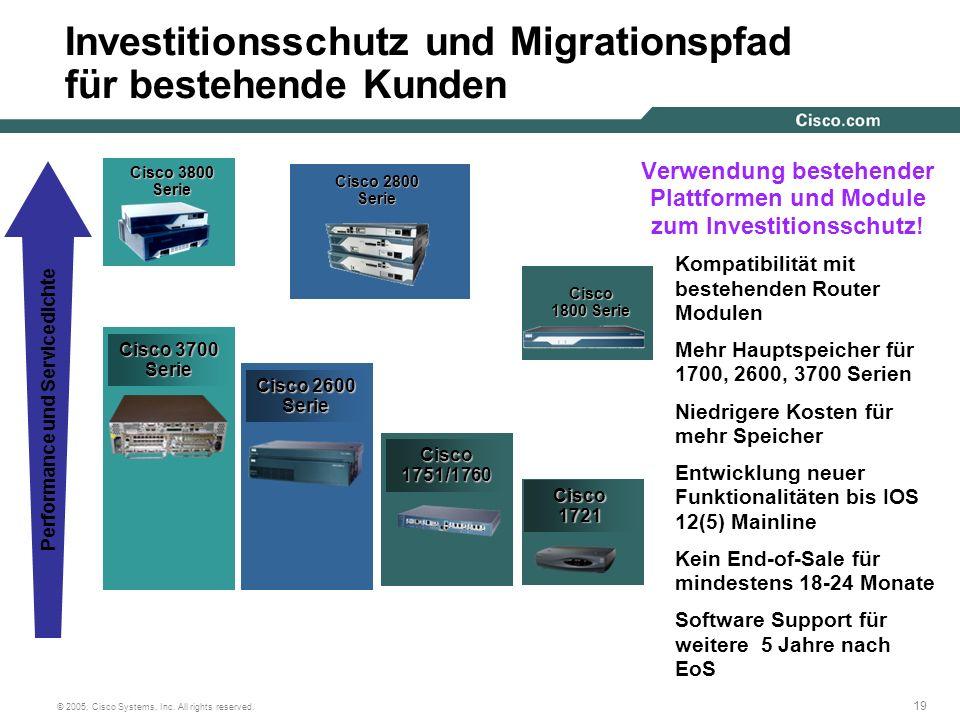 Investitionsschutz und Migrationspfad für bestehende Kunden
