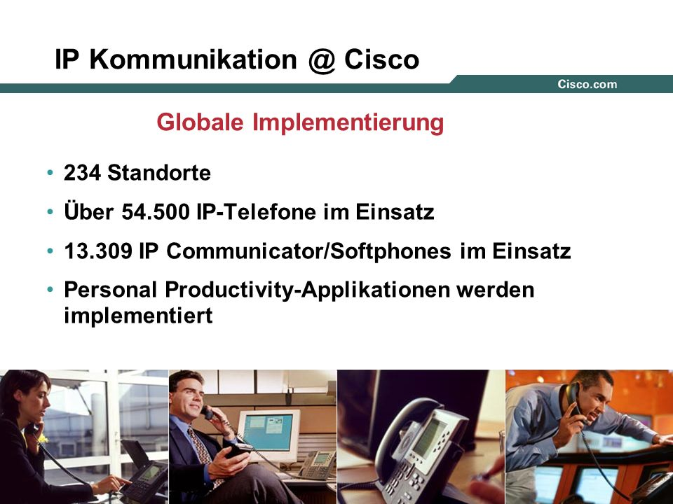 IP Kommunikation @ Cisco