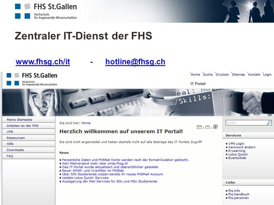 Zentraler IT-Dienst der FHS