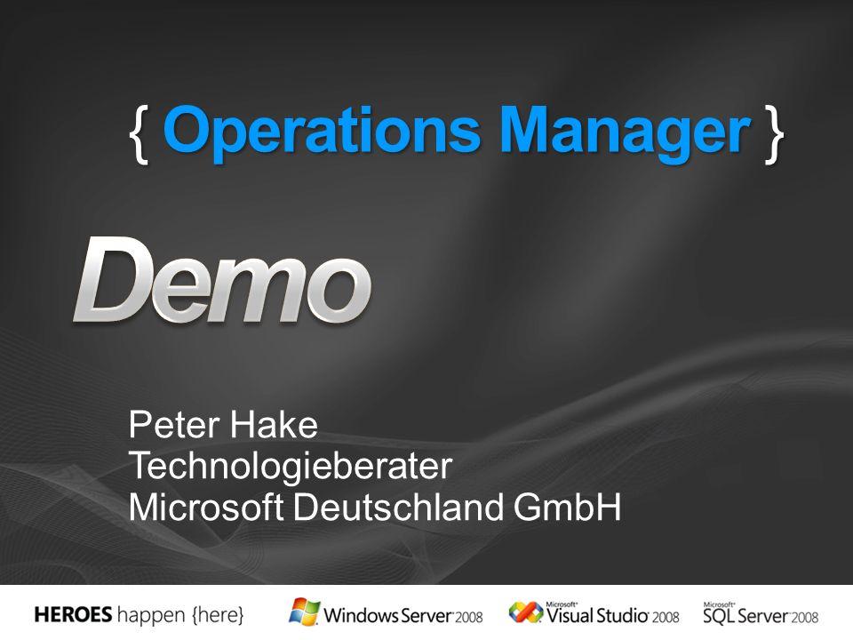 Peter Hake Technologieberater Microsoft Deutschland GmbH