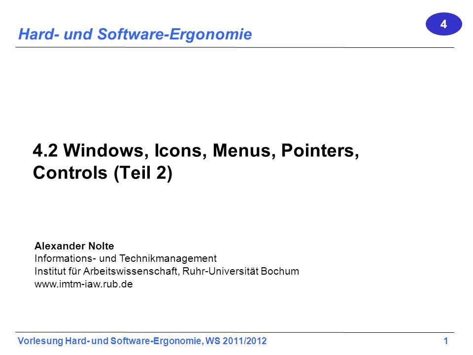 4.2 Windows, Icons, Menus, Pointers, Controls (Teil 2)