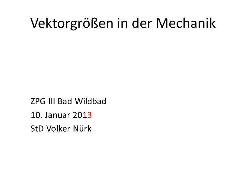 Vektorgrößen in der Mechanik - ppt video online herunterladen