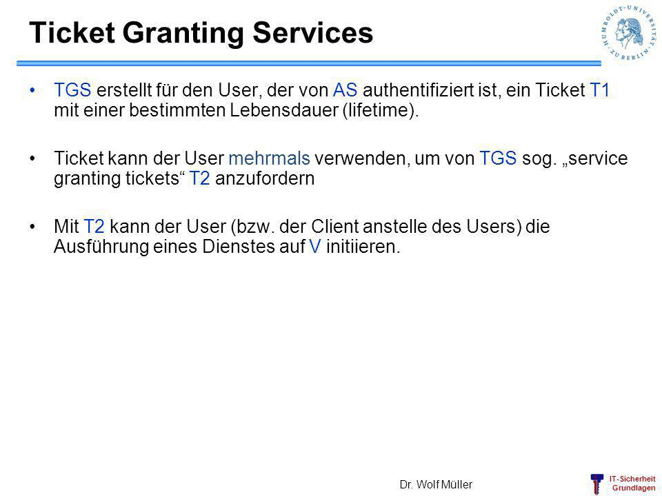 Ticket Granting Services