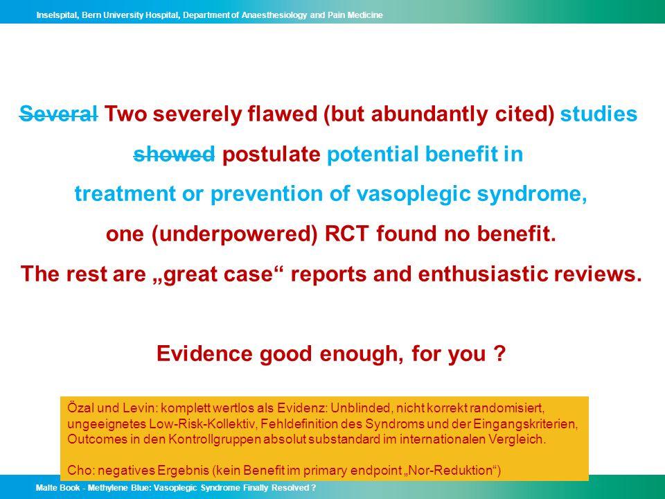 Several Two severely flawed (but abundantly cited) studies