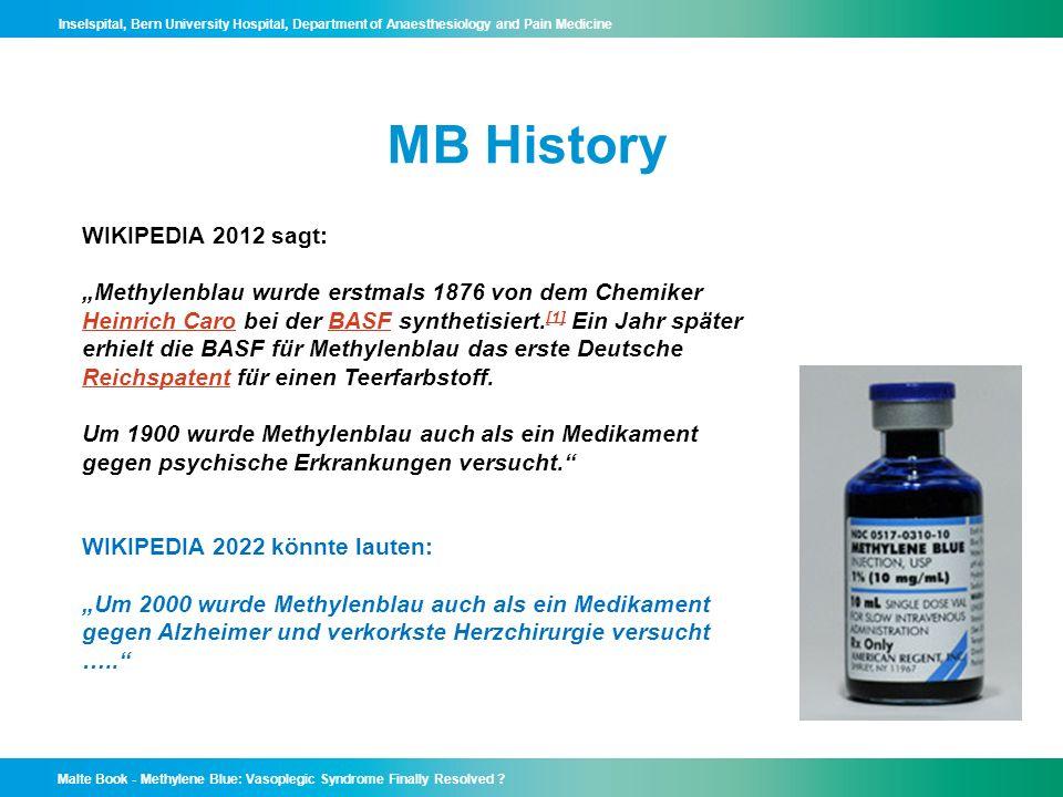 MB History WIKIPEDIA 2012 sagt: