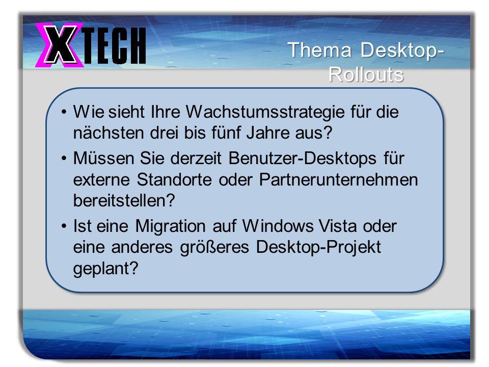 Thema Desktop-Rollouts