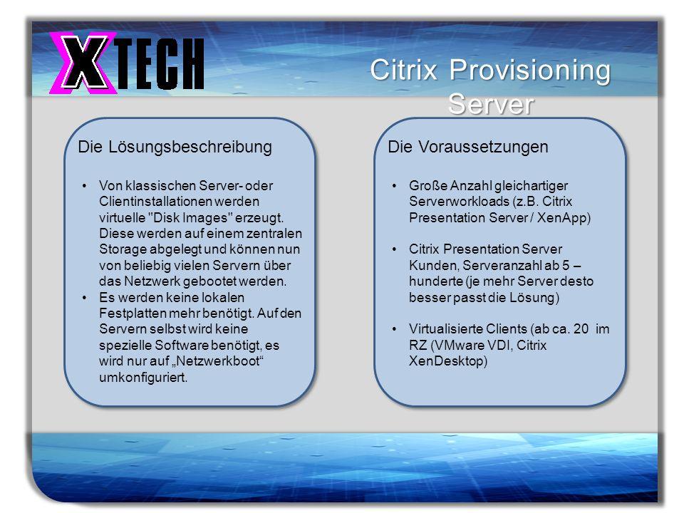 Citrix Provisioning Server