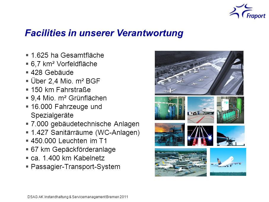 Facilities in unserer Verantwortung