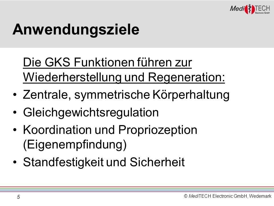Anwendungsziele Die GKS Funktionen führen zur Wiederherstellung und Regeneration: Zentrale, symmetrische Körperhaltung.