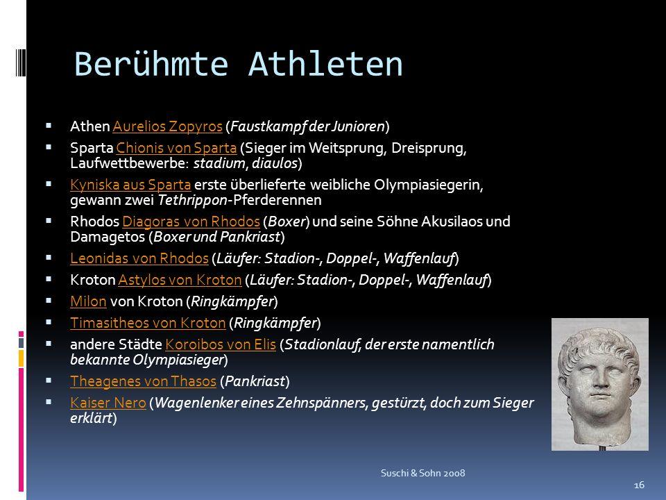 Berühmte Athleten Athen Aurelios Zopyros (Faustkampf der Junioren)