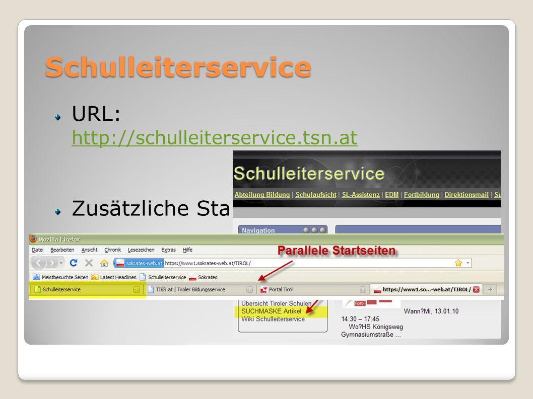 Schulleiterservice URL: http://schulleiterservice.tsn.at