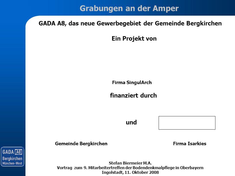 GADA A8, das neue Gewerbegebiet der Gemeinde Bergkirchen