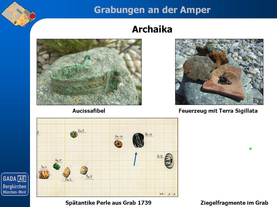 Archaika Aucissafibel Feuerzeug mit Terra Sigillata