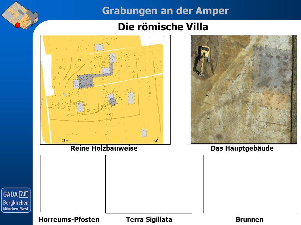 Die römische Villa Reine Holzbauweise Das Hauptgebäude