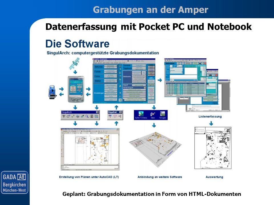 Datenerfassung mit Pocket PC und Notebook