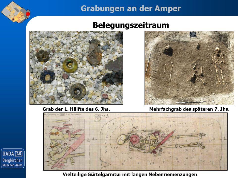 Belegungszeitraum Grab der 1. Hälfte des 6. Jhs.