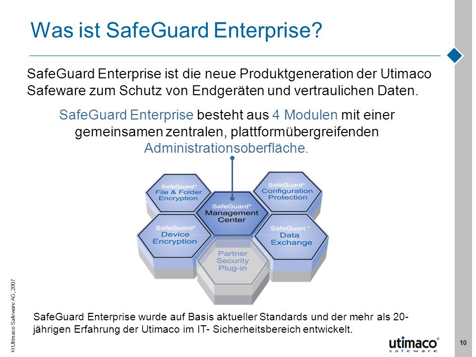 Was ist SafeGuard Enterprise