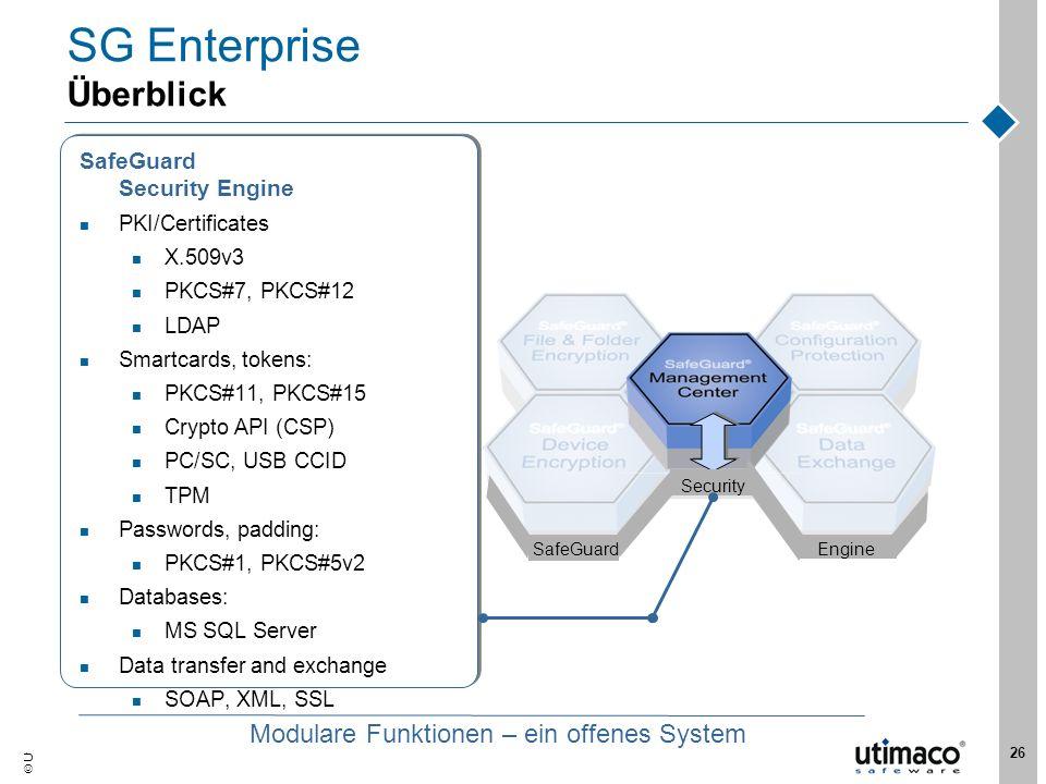 SG Enterprise Überblick