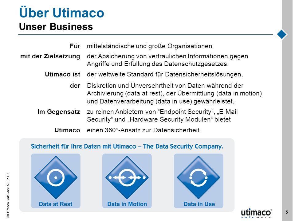 Über Utimaco Unser Business