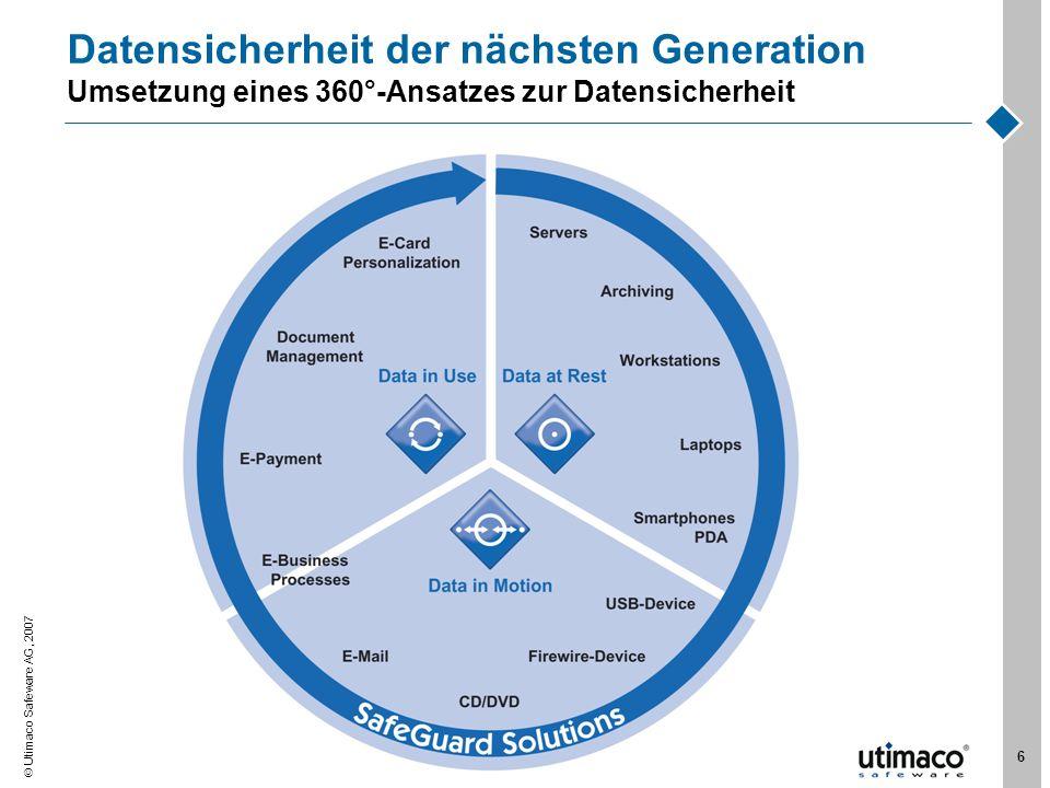 Datensicherheit der nächsten Generation Umsetzung eines 360°-Ansatzes zur Datensicherheit