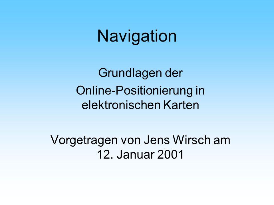 Navigation Grundlagen der